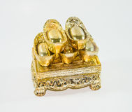 Chinese gold Royalty Free Stock Photography