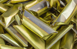 Chinese gold paper Royalty Free Stock Images