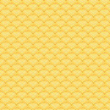 Chinese golden background vector seamless pattern Stock Photography
