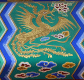 Chinese golden dragon Royalty Free Stock Image