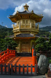 Chinese Golden Temple in Hong Kong Royalty Free Stock Photos