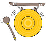 Chinese Gong Royalty Free Stock Image