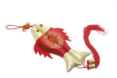 Chinese Good Luck Charm. On White Background Stock Photography