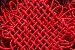 Chinese Good Luck Knot Ornament. Lunar New Year royalty free stock photos
