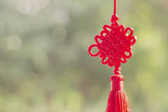 Chinese good luck symbol. Chinese New Year royalty free stock photo