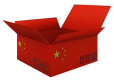 Chinese goods Stock Photography