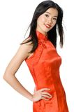 Chinese Gown Royalty Free Stock Photography