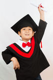 Chinese Graduation Boy Royalty Free Stock Photos