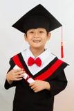 Chinese Graduation Boy Stock Photo