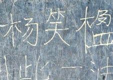 Chinese Graffiti Royalty Free Stock Image