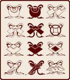 Chinese grafische symbolen Stock Afbeelding