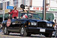 Chinese Grand van het Nieuwjaar stelt Mickey Mouse op Royalty-vrije Stock Afbeeldingen