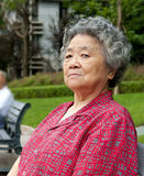 Chinese grandmother Stock Image