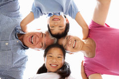 Chinese Grandparents With Grandchildren Stock Photos