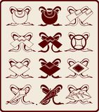 Chinese graphic symbols. Vector of Ancient Chinese chinese graphic symbols Stock Image