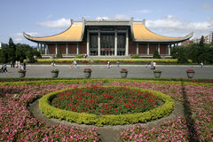 Chinese Great Hall. Dr. Sun Yat-Sen memorial Hall Stock Photos