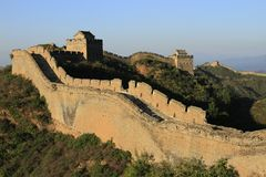 Chinese Great Wall. The Great Wall of China Stock Images