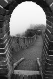 Chinese great wall Royalty Free Stock Images