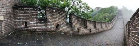 Chinese great wall Stock Image