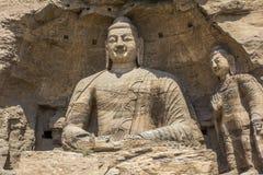 Buddha statues Yungang Grotto China Asia Royalty Free Stock Image