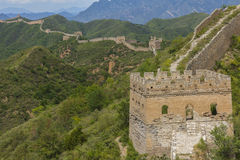Chinese Great Wall JinShangLing Royalty Free Stock Photos