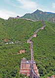 Chinese Great Wall At Juyongguan Stock Images