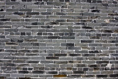 Chinese green brick background. It is a chinese green brick background Stock Photography
