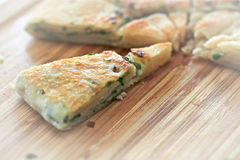 Chinese Green Onion Pancakes Royalty Free Stock Image
