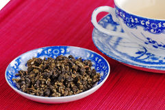 Chinese green tea Royalty Free Stock Images