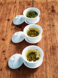 Chinese green tea. A popular drink in china Stock Photos