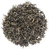 Chinese green tea. Topview isolated Royalty Free Stock Photography