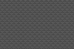Chinese grey black seamless pattern dragon fish scales simple seamless pattern Nature background with japanese wave circle pattern Stock Photography