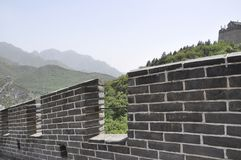 Chinese Grote Muurdetails bij Juyongguan-Pas royalty-vrije stock foto's