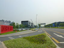 Chinese (Guangdong) free trade area of Shenzhen Qianhai Shekou experimentation area Stock Photo