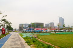 Chinese (Guangdong) free trade area of Shenzhen Qianhai Shekou experimentation area Stock Photography