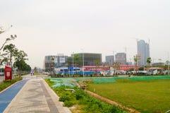 Chinese (Guangdong) free trade area of Shenzhen Qianhai Shekou experimentation area Stock Photography