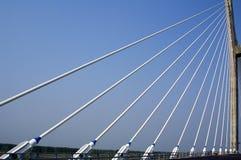 Chinese guanhe bridge. Cord   cordage   riata   rigging   tug Stock Images