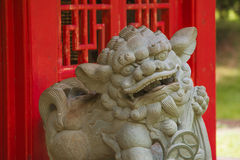 Chinese Guardian Lion Stock Image