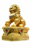 Chinese guardian lion Stock Images