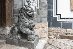 Chinese guardian lion Royalty Free Stock Photography