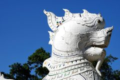 Chinese guardian lions or Imperial guardian lions Royalty Free Stock Photo