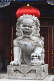 Chinese guardian lions Stock Image