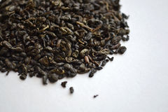 Chinese gunpowder green tea Stock Photography