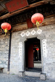 Chinese hakka round house Royalty Free Stock Photo