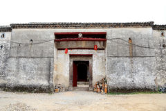 Chinese hakka round house Royalty Free Stock Photos