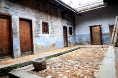 Chinese hakka round house Royalty Free Stock Image