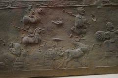 Chinese Han Dynasty brick Royalty Free Stock Photo