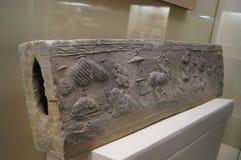 Chinese Han Dynasty brick Stock Image