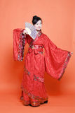 Chinese Han Dynasty woman stock images