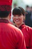 Chinese Han-style mass wedding Stock Image